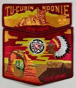 Tu Cubin Noonie Lodge 508 2015 Centennial NOAC 2-Piece Mint Cond FREE SHIPPING
