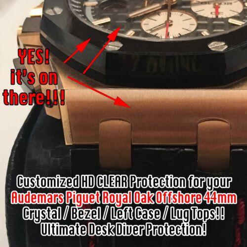 For Audemars Piguet Royal Oak Offshore 44mm HD Clear Anti-Scratch Protection X2
