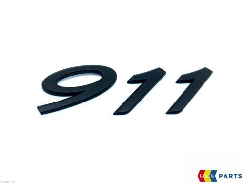 NEW GENUINE PORSCHE 991 2012-2019 REAR TRUNK BLACK 911 LETTERING BADGE EMBLEM