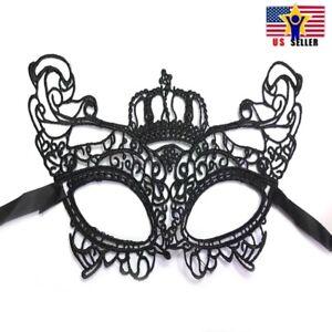Sexy-Halloween-Antifaz-Encaje-Negro-Corona-Fiesta-Carnaval-Antifaz-Mardi-Gras-2
