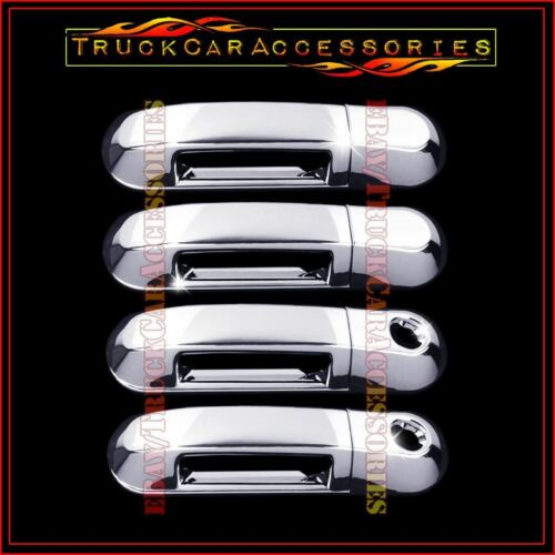 For FORD Explorer 2002-2010 Sport Trac 2007-10 Chrome 4 Door Handle Covers W//PK