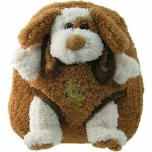 New-Adorable-Children-039-s-Plush-Animal-Puppy-Backpack