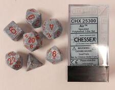Polyhedral 7-Die Chessex Dice Set - Speckled Air CHX 25300