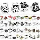 Star Wars & Superhero Men's Jewellery Wedding Novelty Vintage Cufflink Cuff Link