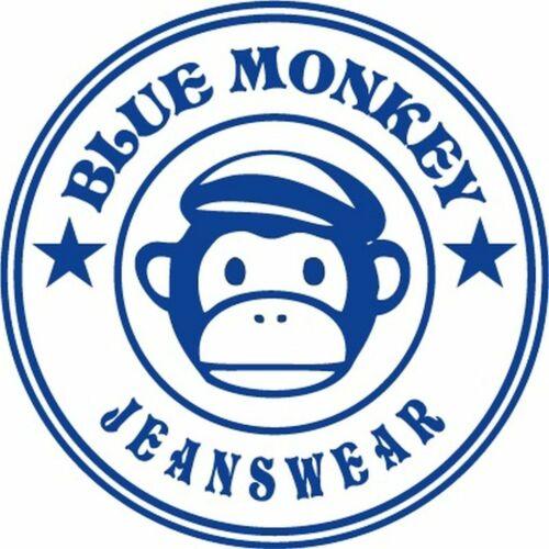 ** ORIGINAL BLUE MONKEY JEANS ** 3830R Hose schwarz black ** alle Größen