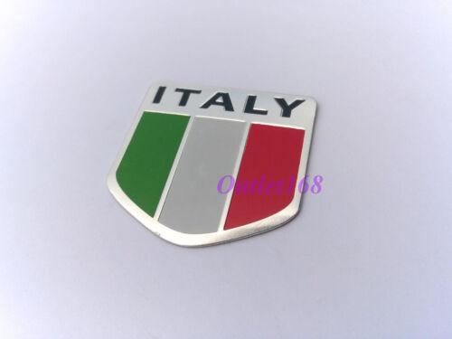 Scooters Lambretta Vespa Piaggio Italy Flag Emblem Badge Logo Decal SelfAdhesive