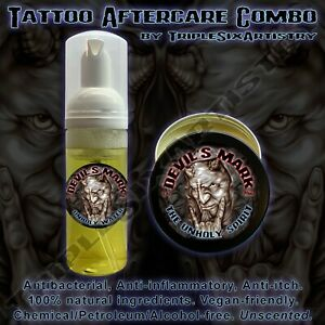 Devil-039-s-Mark-Tattoo-Aftercare-Balm-Antibacterial-Soap-by-Triple-Six-Artistry