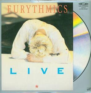 Eurythmics-Live-Laserdisc-Music-SEALED