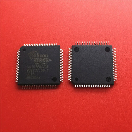 10PCS  SIL9185ACTU SIL9185 QFP NEW