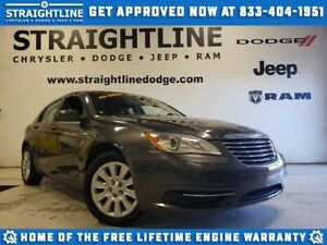 2014 Chrysler 200 LX/ONE OWNER/LOCAL TRADE/CLEAN
