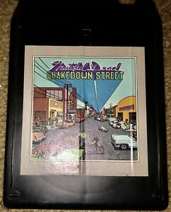 """GRATEFUL DEAD 8-TRACK TAPE """"SHAKEDOWN STREET"""" ARISTA AT8-4198 FREE SHIPPING LOOK"""