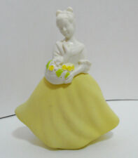 Avon Vintage 1970's Made in Italy Flower Maiden Decanter Cotillion Cologne Empty