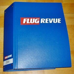 Flug-Revue-2004-komplett-1-12-im-Ordner-Flugzeuge-Zeitschrift-Sammlung-Jahrgang