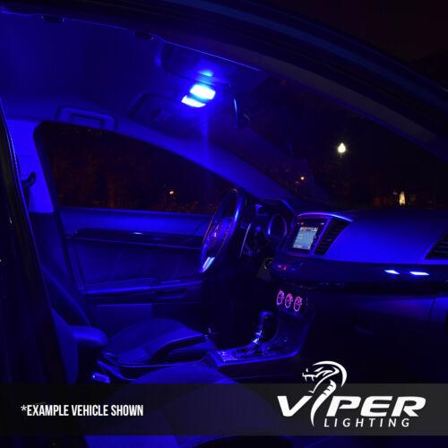 Blue Interior LED Lights Package Kit For 2003-2008 Hyundai Tiburon