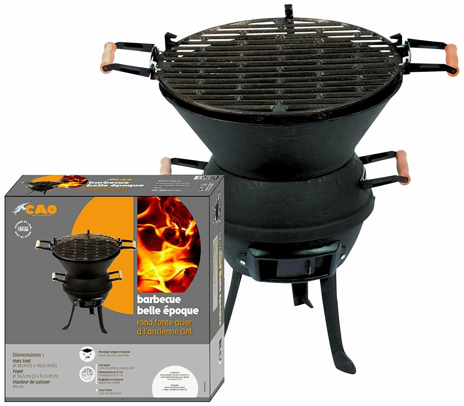CAO Camping Belle Epoque Barbecue Rond