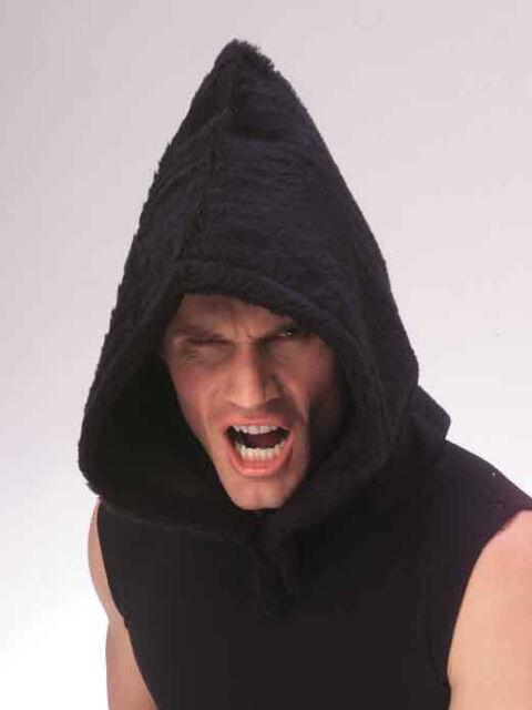 Plush Horror Hood - New - Adult - Costume Accessory