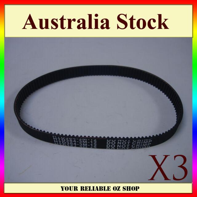 3X Drive Belt HTD 384 3M 12 ELECTRIC RAZOR SCOOTER PULSE BIKE ROCKET E10