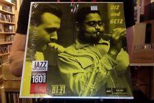 Dizzy Gillespie and Stan Getz Diz and Getz LP sealed 180 gm vinyl + mp3 download