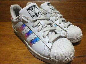 adidas superstar iridescent stripes