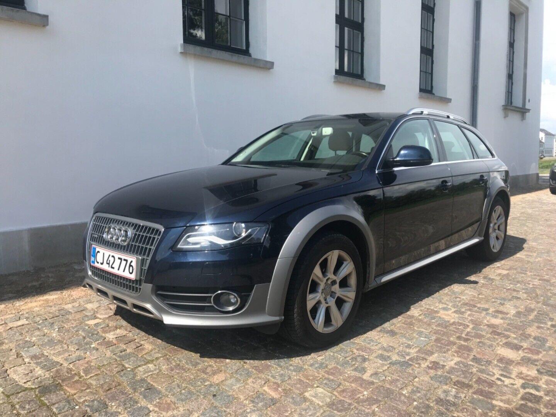 Audi A4 allroad 3,0 TDi 240 quattro S-tr. 5d - 168.000 kr.