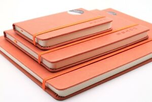 Premium Notebook Journal Bloc-notes, Cartonnée Rustique En Simili Cuir | A4 A5 A6 Doublé-afficher Le Titre D'origine