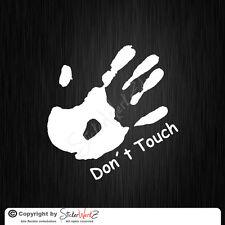 0114 | Dont Touch Aufkleber Sticker | VW OPEL GOLF PASSAT CORSA JDM