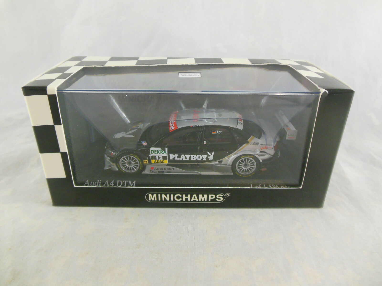 Escaso Minichamps 400 061512 AUDI A4 2006 2006 2006 DTM Equipo Pheonix controlador  12 C ABT 756f5e