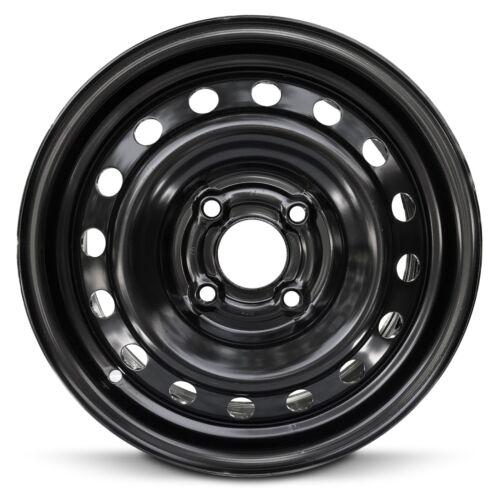 Steel Wheel Rim 15 Inch 98-02 Honda Accord 4 Cylinder Cyl 4 Lug 115mm Black New