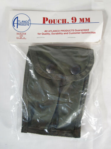 MADE IN USA NEW w// Pouch OD Green ALICE Atlanco 9mm Pouch