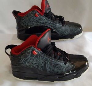 zapato nikes yordan rojo