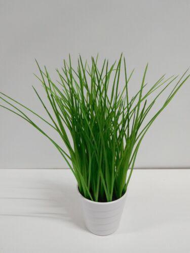 Grasbusch Gras Ziergras Kunstpflanze Dekopflanze H 30 cm 1016061-00 getopft F41