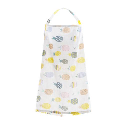 Baby Car Seat Cover Canopy Mom Breastfeeding Nursing Scarf Blanket Shawl Apron