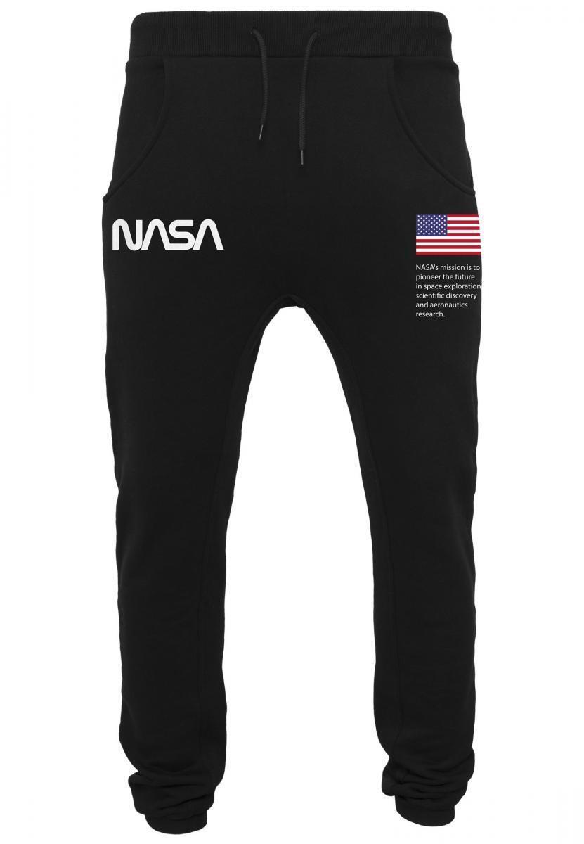 MISTER TEE Hose von Anzug von NASA Herren sport schwarz