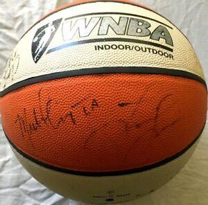 1999-Sparks-team-autographed-signed-WNBA-basketball-Lisa-Leslie-Tamecka-Dixon