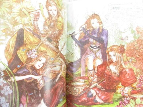 TACTICS OGRE Lover/'s Voice Fan Book Art Works Japan 33*
