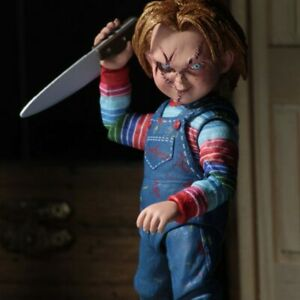 NECA-Chucky-Doll-4-034-Ultimate-Child-039-s-Play-Good-Guys-Action-Figure-New-Toy-Gift
