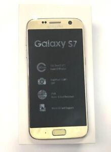 New-Open-Box-Samsung-Galaxy-S7-SM-G930T-Unlocked-T-Mobile-Gold-Simple-Ultra