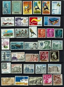 SPAIN-COLLECTION-180-STAMPS