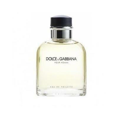 DOLCE & GABBANA Pour Homme * Cologne for Men * 4.2 oz * D&G NEW TESTER WITH CAP