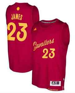 finest selection b1592 d6d62 Details about LeBron James #23 Cleveland Cavaliers Christmas Day Swingman  adidas Jersey