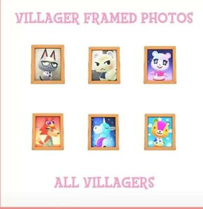 All-391-Villagers-Framed-Photos-for-Animal-Crossing-New-Horizon-pickup