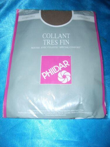 Phildar Mousse Feinstrumpfhose Gr 52-54 braun//biche 15 den Collant OVP