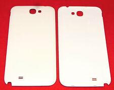 COVER Posteriore Cover Posteriore Coperchio Guscio Bianco per Samsung Galaxy Note 2 II n7100