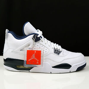 a98f2f8c5a7 Nike Air Jordan 4 IV Retro Legend Blue Columbia bred DS New 314254 ...