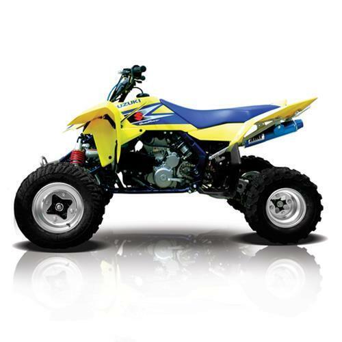 for 06-09 Suzuki LTR450 HMF ATV IQ Defender XC Front Bumper Black