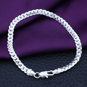 Sonderpreis-Grosshandel-Silber-Schmuck-Herren-Damen-Armband