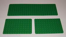 LEGO® Platte 8x12 8x24 grün Base Bauplatte Set 3497 819 #6049