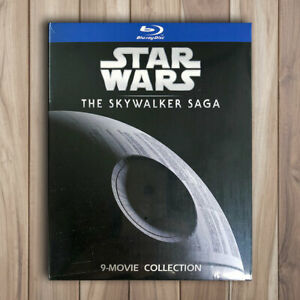 Star-Wars-The-Skywalker-Saga-Collection-Complete-1-9-Blu-ray-9-Discs-NOT-DVD