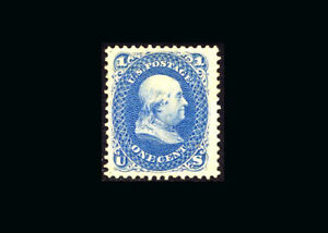 US-Stamp-Mint-XF-S-102-Fresh-color-lightly-hinged-twice-on-original-gum