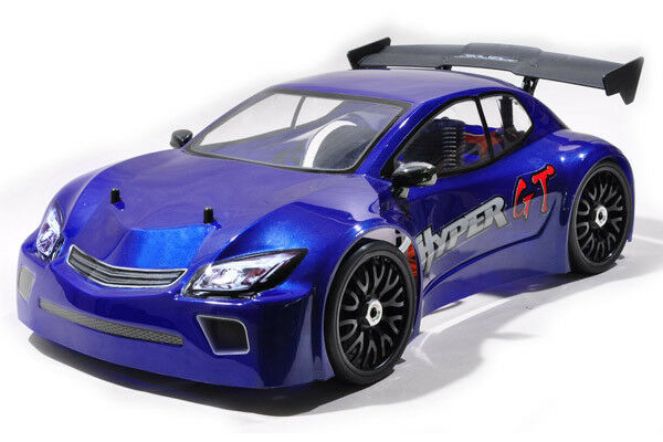 HOBAO 1 8 HYPER GT ON-ROAD ELECTRIC RTR (SHORT CHASSIS) - blu BODY (RC_DEPOT)